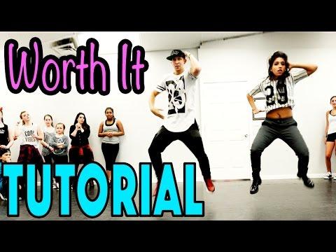 Worth It - Fifth Harmony Dance Tutorial | mattsteffanina Choreography (intermediate Hip Hop) video