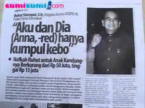 Anna Tantang Ruhut Sitompul Potong Kuping - cumicumi.com