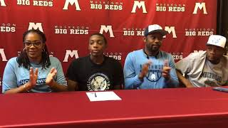 Muskegon's De'Airrus Ware signs with Northwood University basketball
