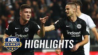 Eintracht Frankfurt vs. Fortuna Dusseldorf   2018-19 Bundesliga Highlights