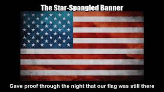 United States National Anthem - The Star-Spangled Banner (Nightcore Style With Lyrics)