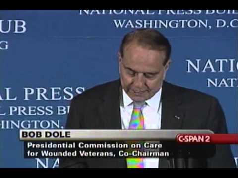 Bob Dole Recites The Dash Poem