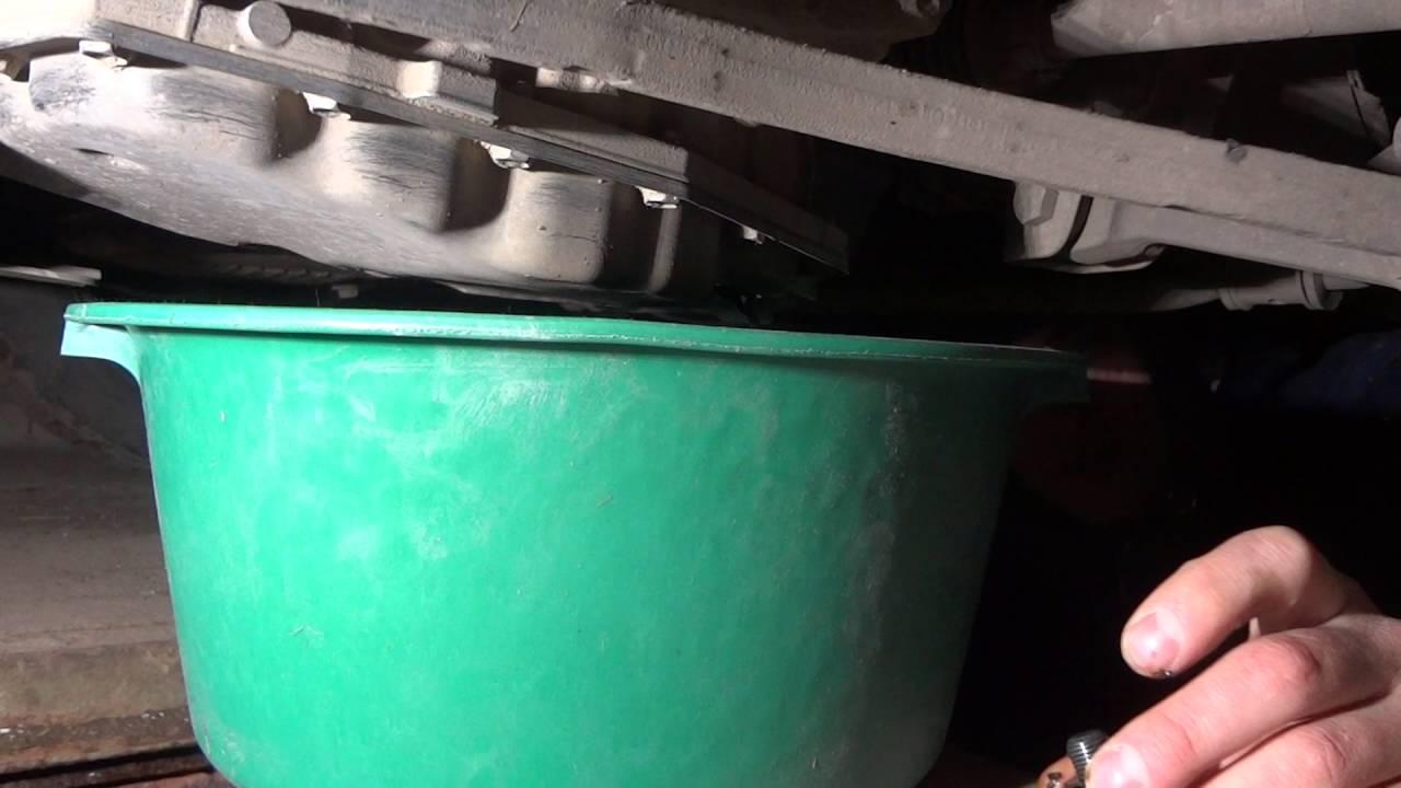 Замена масла в акпп калина 2 своими руками