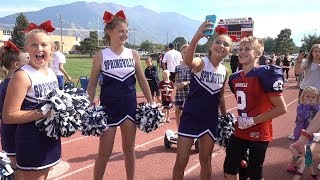 🏈Chad Crushes on Cheerleaders