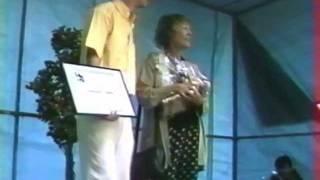Annie Girardot - Souvenances de Cinéphiles - 1998 - remise du prix