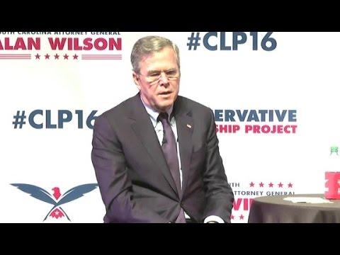 Debating Jeb Bush's 'stuff happens' comment