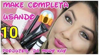 Maquiagem Básica Usando 10 produtos da Mary Kay por Sabrina SantosMakeup