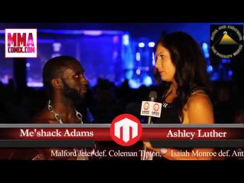 Fight Lab 39 Interview With Me'shack Adams... Calls out Jason Faglier