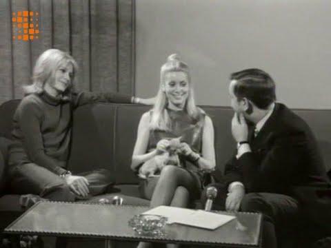 Françoise Dorléac & Catherine Deneuve - Interview (Belgian TV 1967)