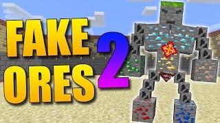 FAKE ORES 2: Los Ores Nos Atacan Y Tienen Un Jefe - Minecraft Mod 1.9.4/1.9