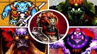 Evolution of Ganon Battles in Zelda Games (1986-2017)