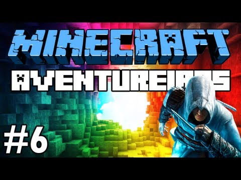 Minecraft: Feromonas e os Aventureiros Multiplayer #6 O Assassino