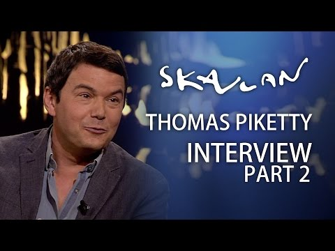 Supereconomist Piketty picks on Norwegian capitalist Bjorn Kjos | Full interview Part 2 | Skavlan
