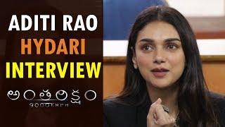 Aditi Rao Hydari interview About Antariksham 9000 KMPH | Varun Tej,  Lavanya Tripathi | SankalpReddy