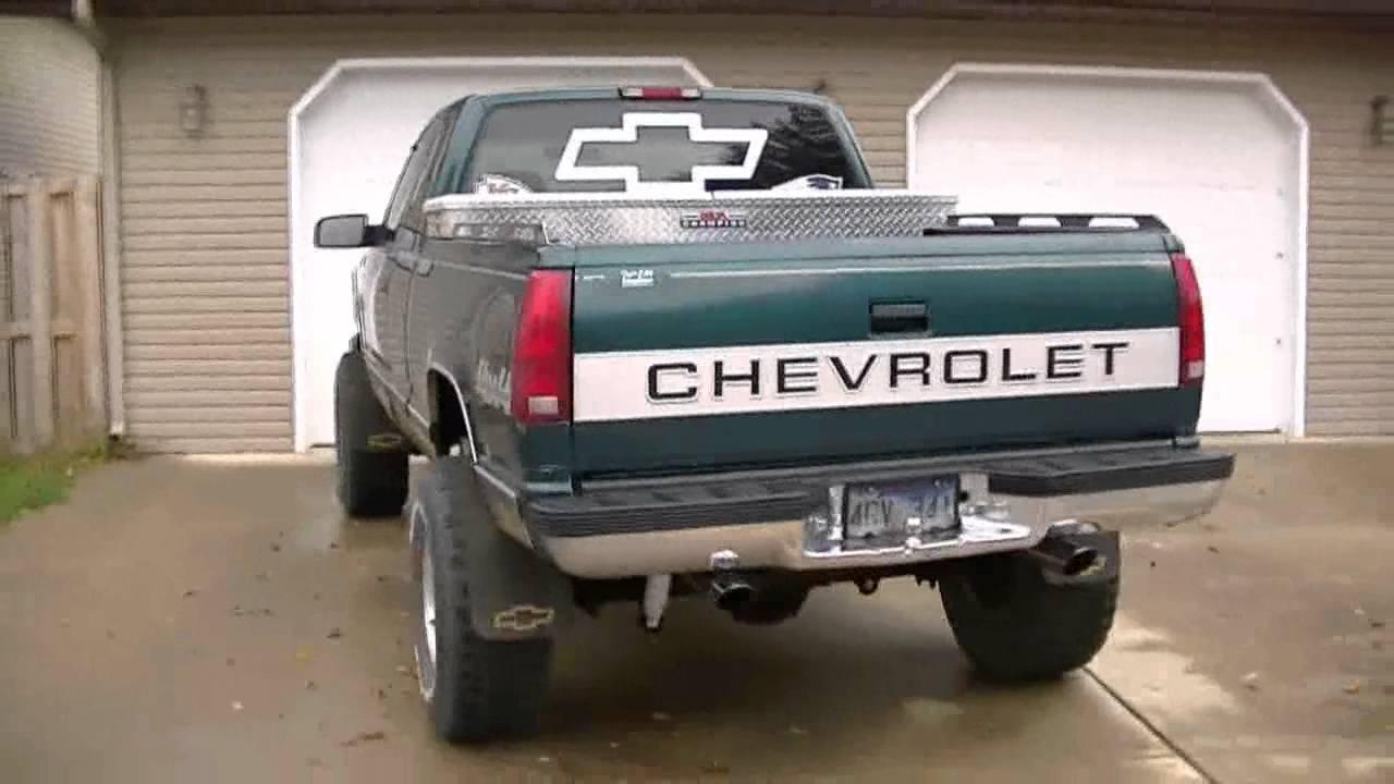 1998 Chevrolet K2500 test drive  YouTube