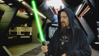 Some thoughts about lightsabers in real life