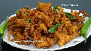 Onion Pakoda -  (Pyazi) - Tea Time snacks