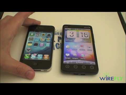 Apple iPhone 4 vs. HTC EVO 4G Schmackdown