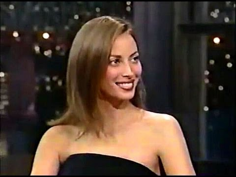 Christy Turlington - Late Night w/ David Letterman 1997