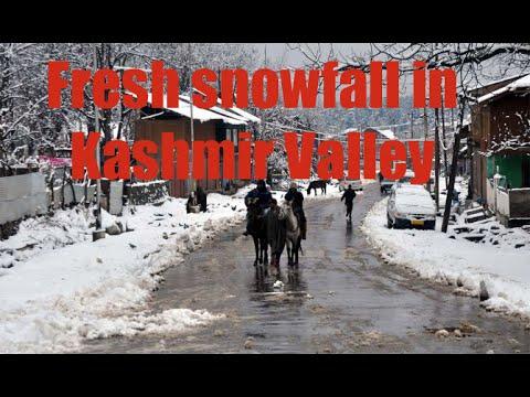 Season's first snowfall in Kashmir Valley August 2015