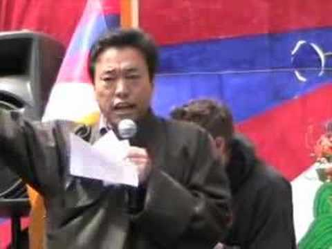 Human Rights In Tibet Tenzing Chonden Pt. 2 Race for Tibet 08