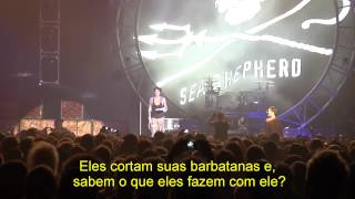 Tommy Lee, da banda Mtley Crue - pede pela liberdade de Paul Watson em Show