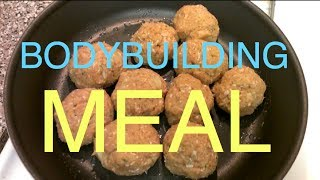 BodyBuilding MEAL example
