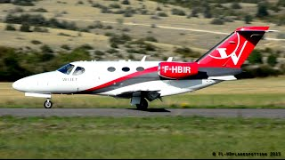 *RARE* Wijet Cessna 510 Citation Mustang F-HBIR at Millau-Larzac [LFCM] - Extreme Close-up!
