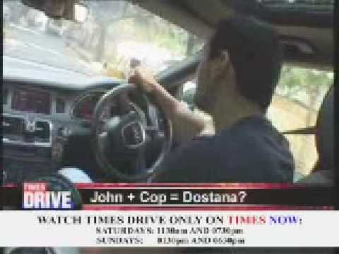 Times Drive  Interview with John Abraham