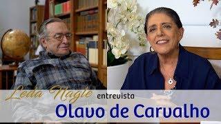 Com a palavra o filósofo e professor Olavo de Carvalho .