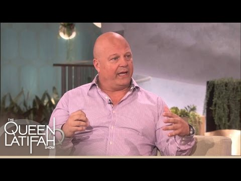 Michael Chiklis Bangs On The Drums | The Queen Latifah Show