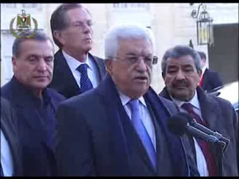 Press Statement By President Abbas Following His Meeting With The French President Francios Hollande video