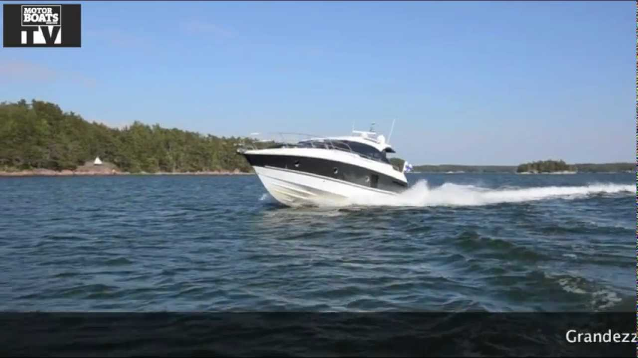 Motor Boats Monthly test the Grandezza 39 in Finland mbm - YouTube