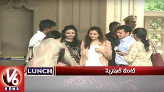 1 PM Headlines | Rahul Gandhi Tour | TRS Parliamentary and TRSLP Meetings | DMK Meeting