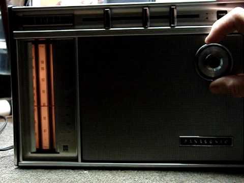 Radio 1970 Panasonic 1970 Portable Radio
