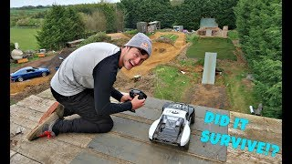 DID IT SURVIVE!? **FOX RC CAR GIVEAWAY**