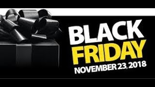 BLACK FRIDAY  2018!!!  Prepping for the Shopping runs...