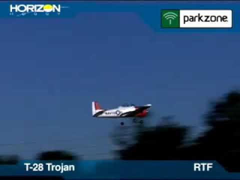 Trojan Rtf Parkzone T-28 Trojan Rtf Bnf