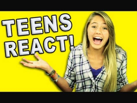 Teens react announcement youtube