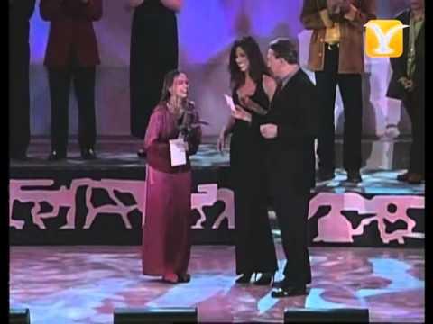 Carolina Sabino, El Aguacero, Premiación Competencia Internacional, Festival de #Viña 1999