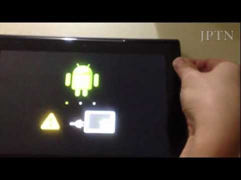 Installing (the pre-rooted) Ice Cream Sandwich (ICS) firmware on a Rooted Sony Tablet S