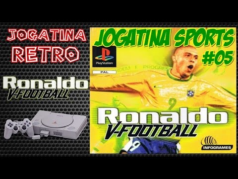 JOGATINA SPORTS #05 - RONALDO V-FOOTBALL (PS1)