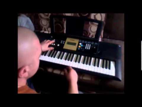 Dwa Jabłuszka.Keyboard.cover.Yamaha Ypt 220
