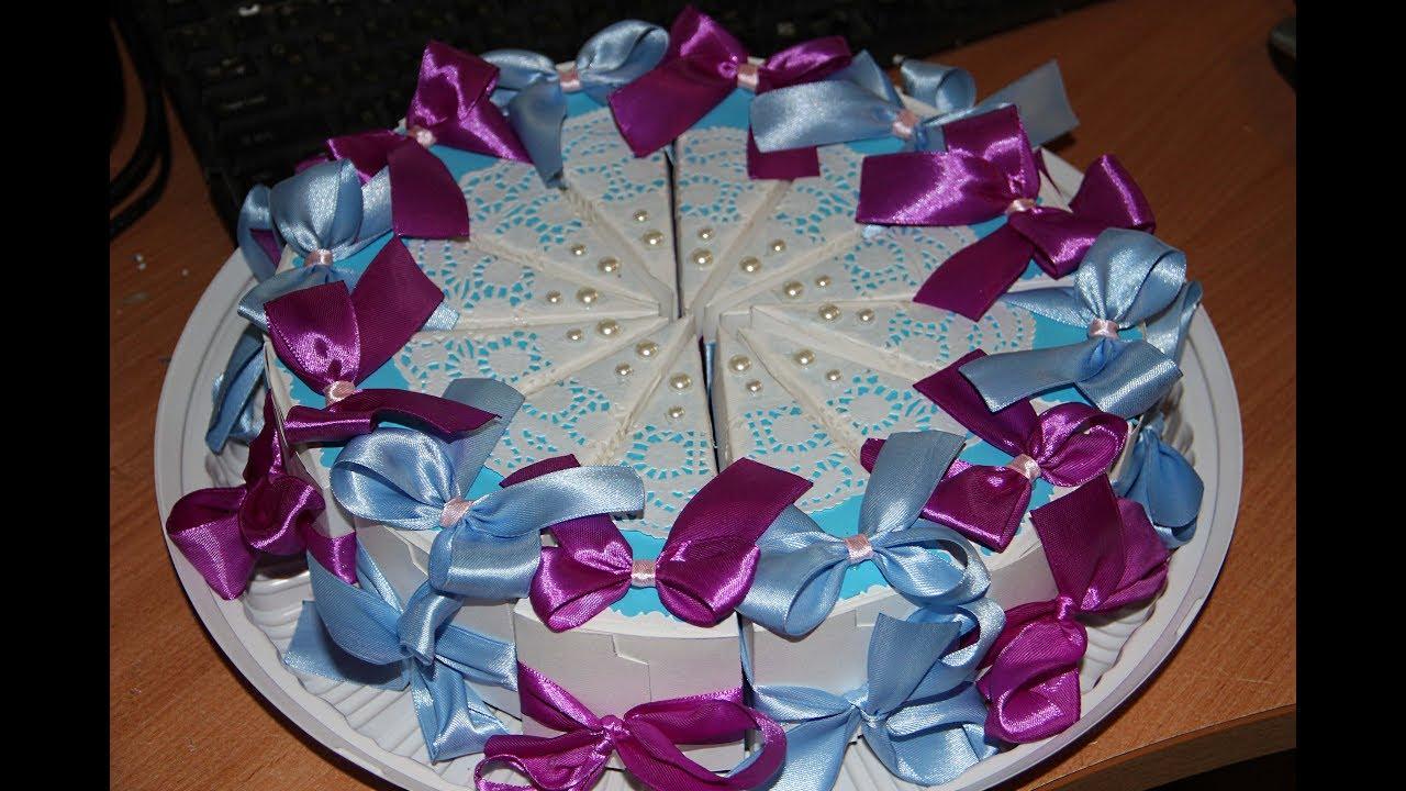 Торт с бумаги своими руками 100
