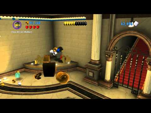 LEGO City: Undercover Bank Escape Gameplay