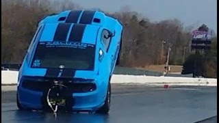 2000hp Wheelie King Shelby GT500 - Evolution Performance