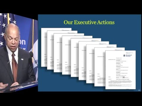 DHS: Progress in 2015, Goals for 2016 -- Secretary Jeh C. Johnson