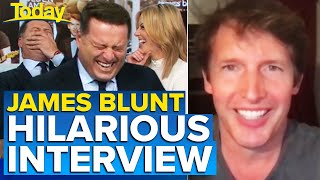 James Blunt catches Aussie hosts off guard with hilarious quip | Today Show Australia