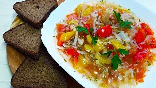 Овощной суп / Правильное питание