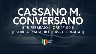 Serie A1M [18^]: Cassano Magnago - Conversano 29-24